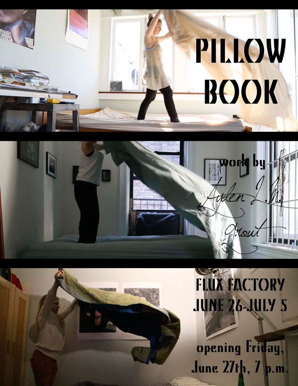Pillow Book: Solo Show By Ayden L. M. Grout