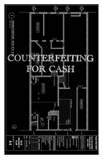 Counterfeiting For Cash Closing Reception
