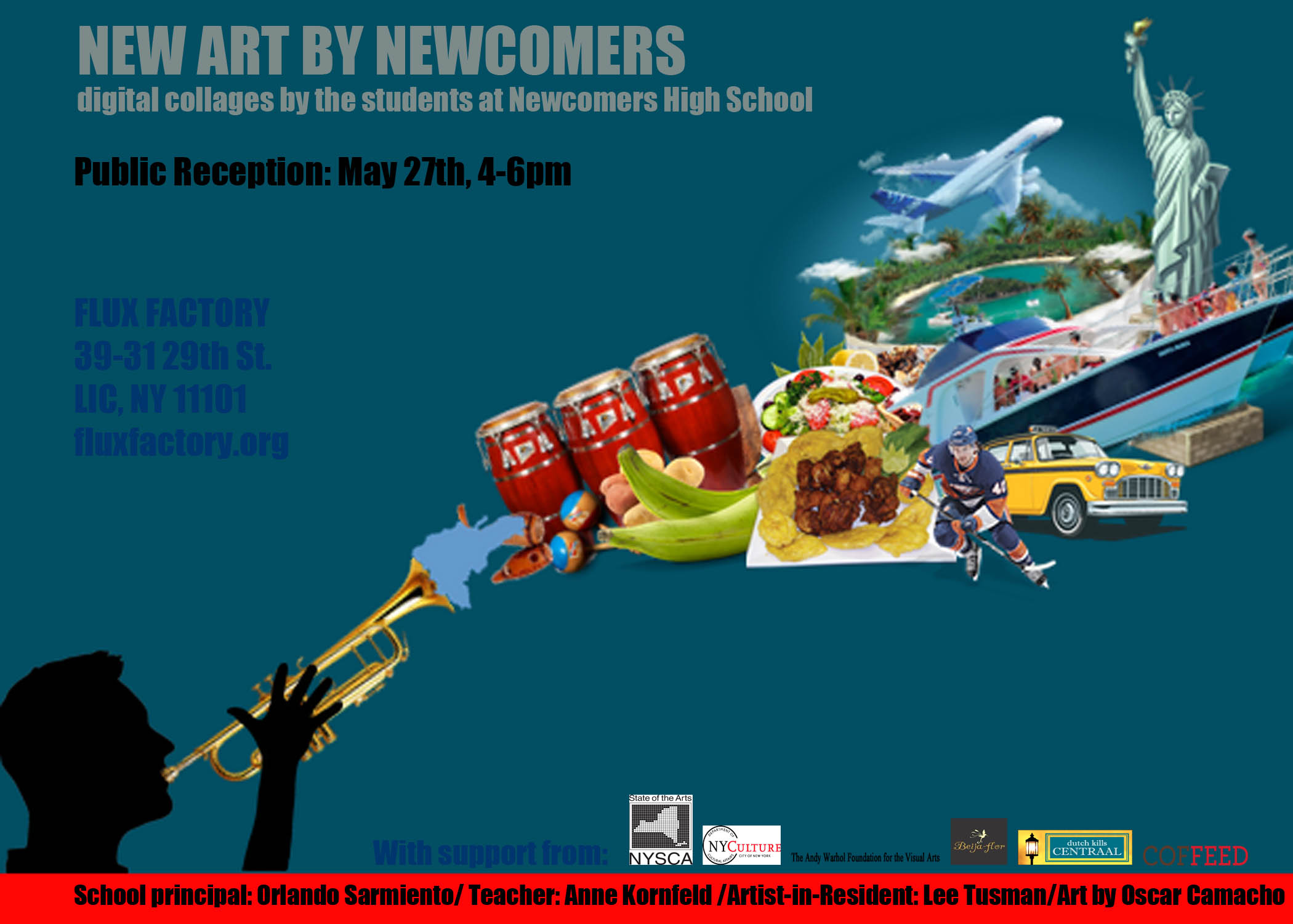 New Art By NEWCOMERS Reception