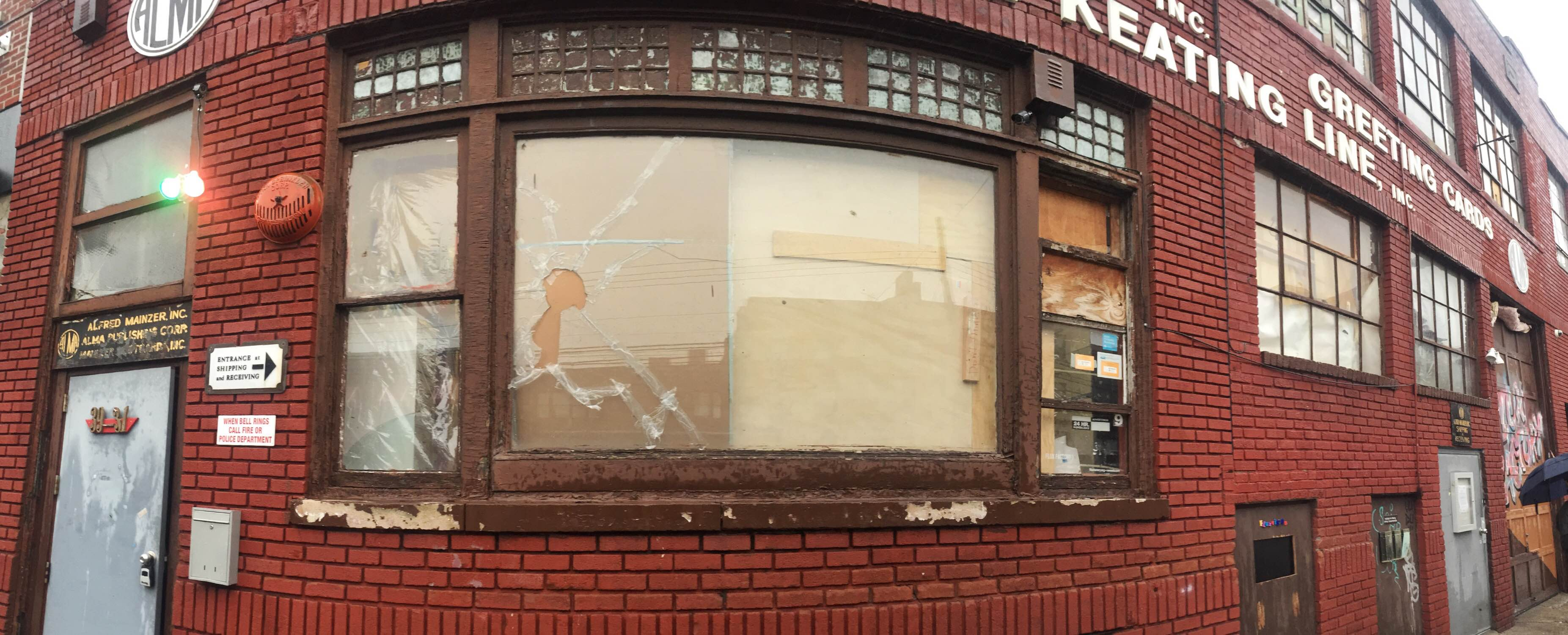 Help Flux Replace Our Broken Front Window!