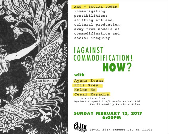 invite_AgainstCommodificationHow_FluxFactory_2017