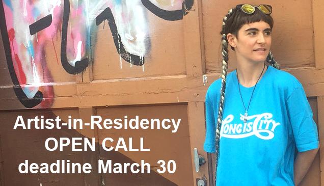 Flux Artist-In-Residence 2018 Open Call