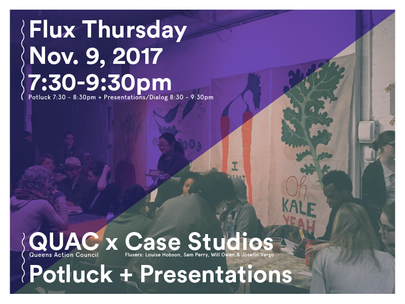 Flux Thursday: QUAC & Case Studios
