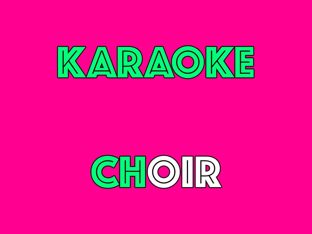 FluxThursday: Karaoke Choir