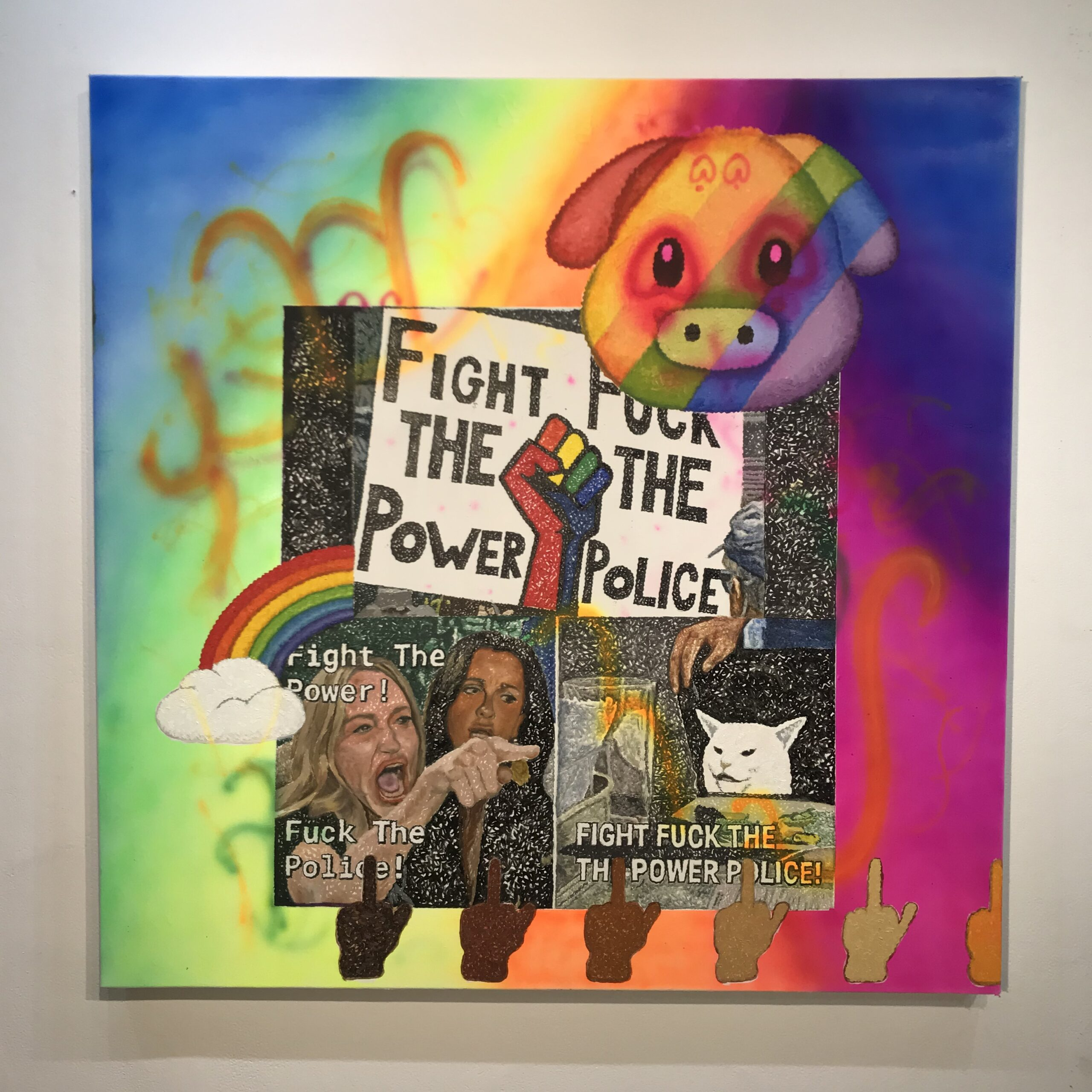 12. Fight the Power, F*ck the Police meme