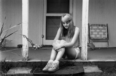 """Elaine"", 1987, Surry County, Va, Untold Stories series, Gelatin Silver print"