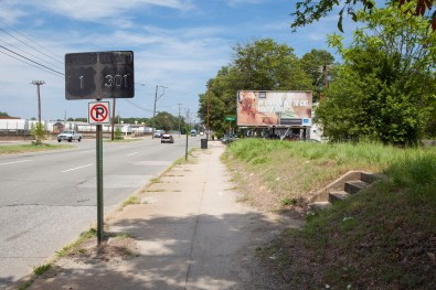 Route Sign, Jefferson Davis Highway, Virginia, 2011