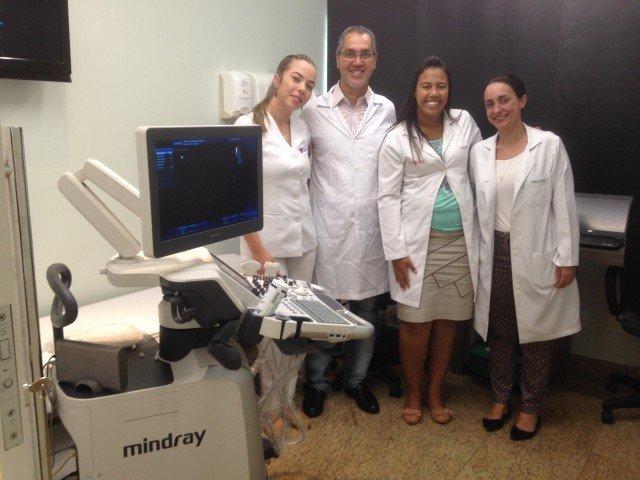 Primeira clínica da região a usar contraste ultrassonográfico em diagnóstico vasculares
