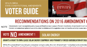 Florida Family Policy Council Amendment Constitutional Amendment Voter Guide