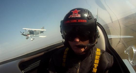 air combat dogfight