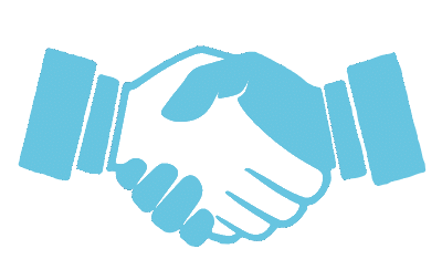 main handshake icon