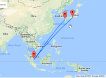 Summer flights from Singapore to Japan from just $251!