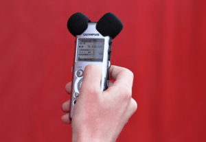 Example of Portable Recording Device