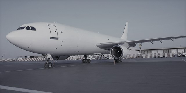 A Very Alluring View Of A 737 All White