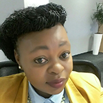 Khensani Mkhombo In A White Shirt And Yellow Jacket