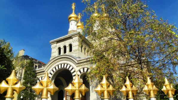 Iglesia Ortodoxa Rusa Ginebra. Propiedad de www.minube.com