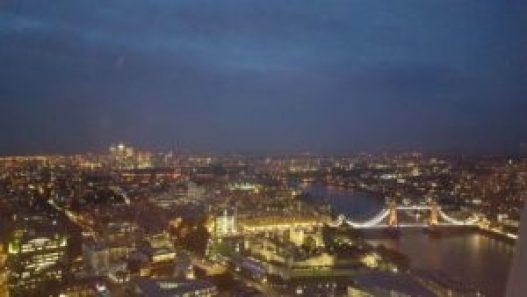 Vistas de Londres desde el Sky Garden © Propiedad de Fly and Grow