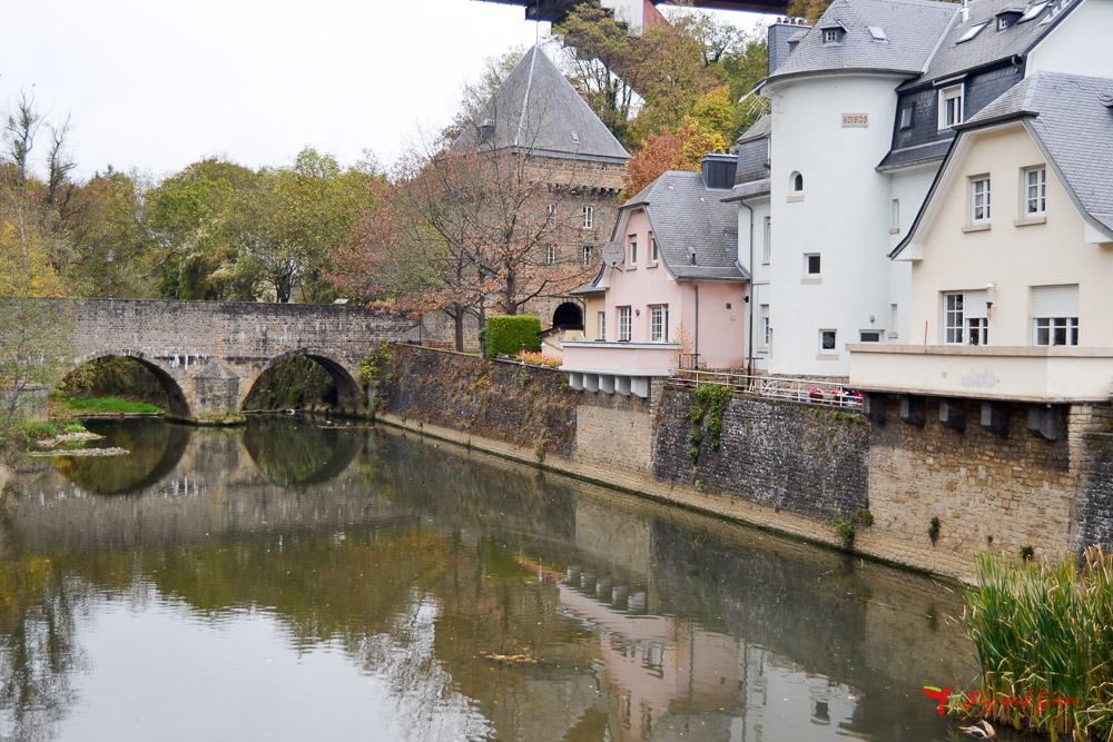 lugar fotogénico de ciudad de Luxemburgo
