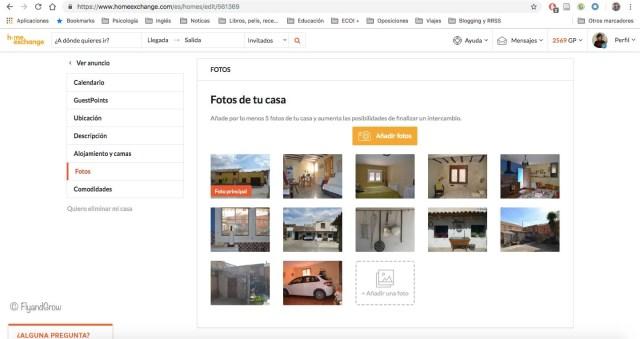 Fotos de tu casa HomeExchange