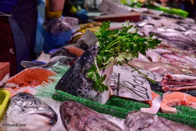 Lonja del pescado de Santander