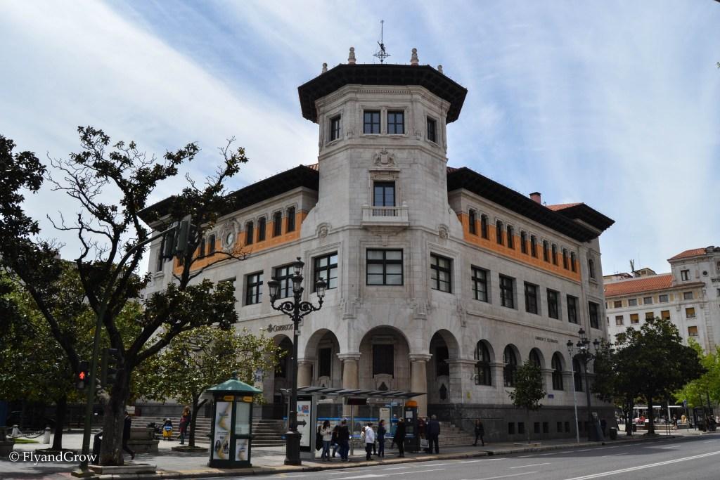 Edificio de Correos de Santander
