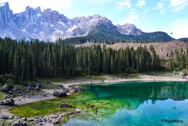 Lago di Carezza, Dolomitas