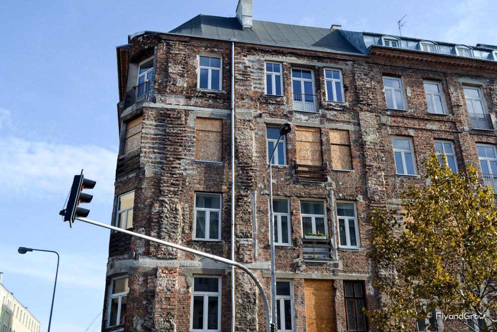 Edificio de Praga, Varsovia