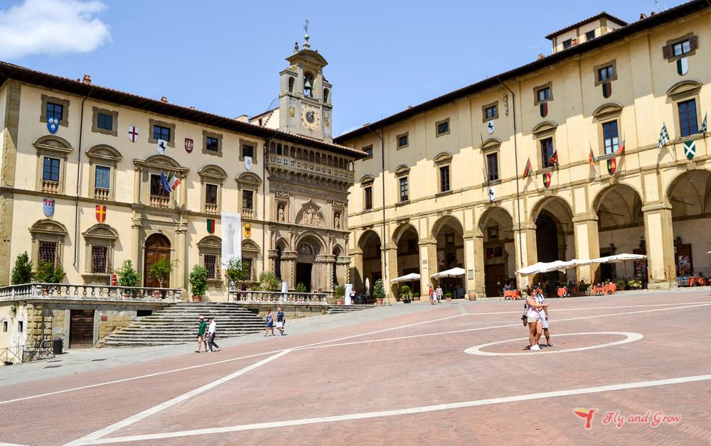 qué ver en Arezzo