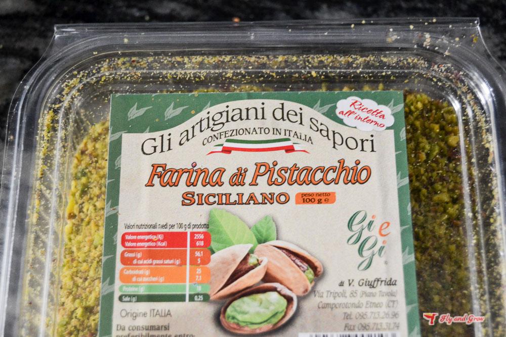 pasta pesto de pistacho