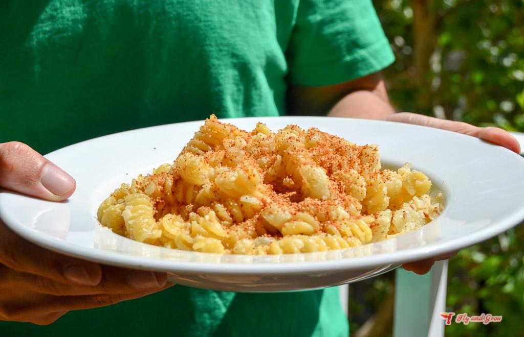 receta fácil de pasta con coliflor
