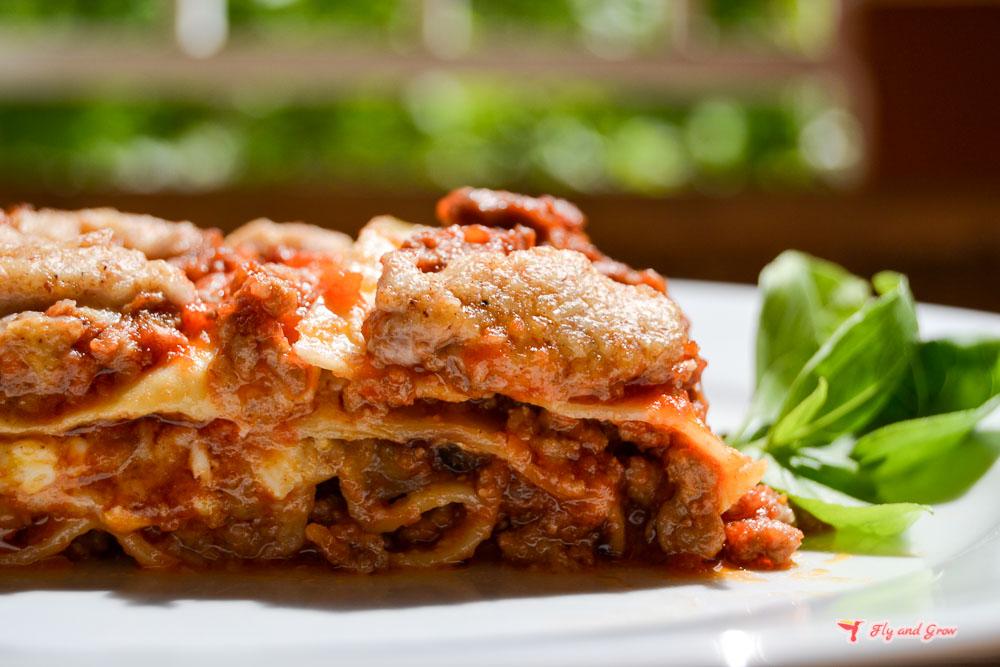 cómo hacer lasaña clásica italiana