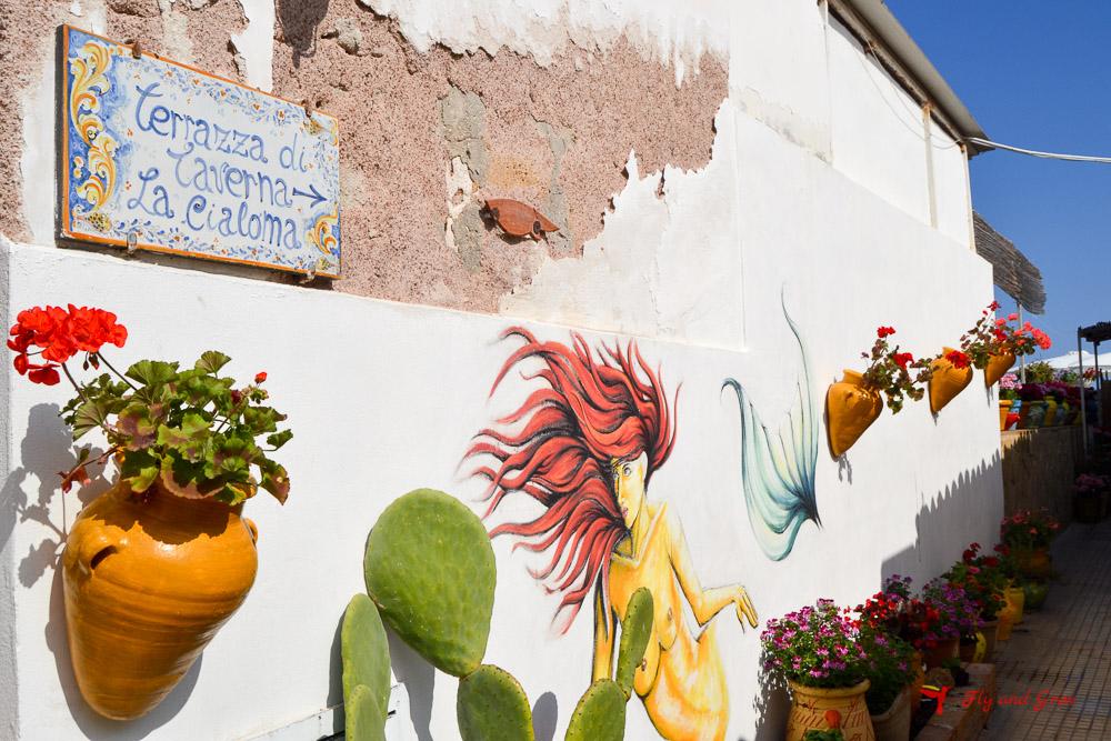 Casa de marzamemi, en el Este de Sicilia
