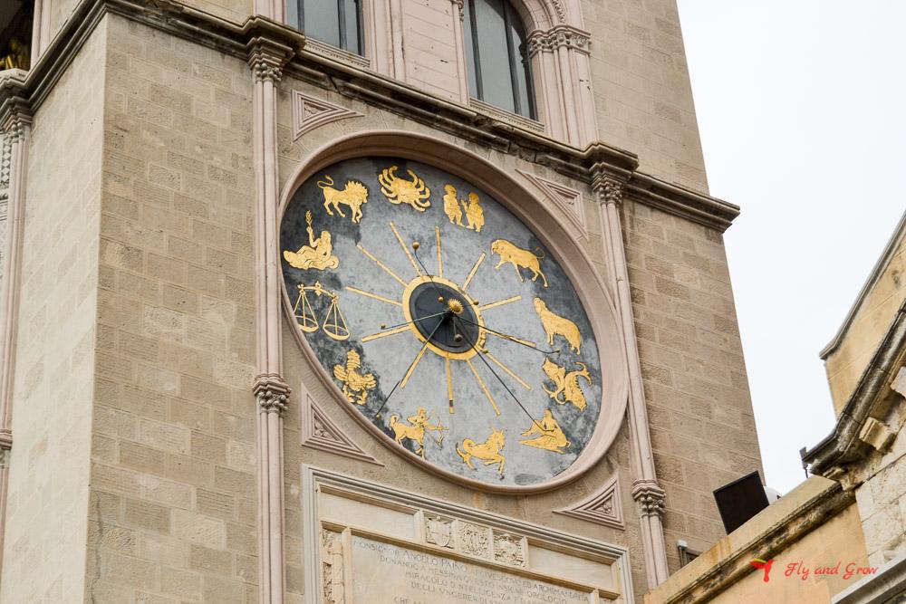 reloj astronómico de Mesina