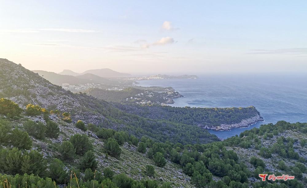 excursión Torre del Cap Vermell, Mallorca