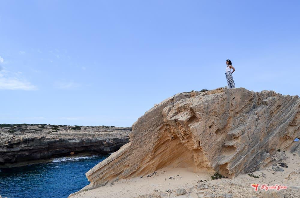 ruta de senderismo Formentera