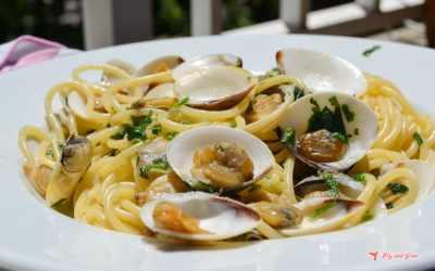 Espaguetis con almejas «italianos» – receta italiana de mi mamma