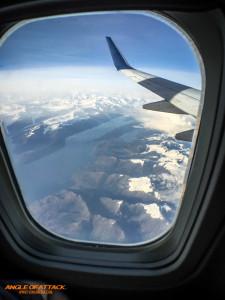 Leaving Alaska to start our journey.