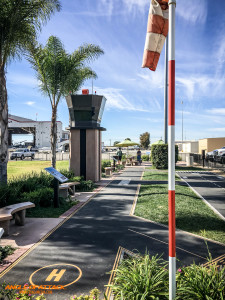 A great play-place for kids at Camarillo Airport.