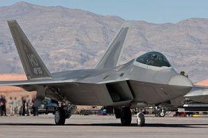 Ron Burgon- USAF F-22 Raptor pilot