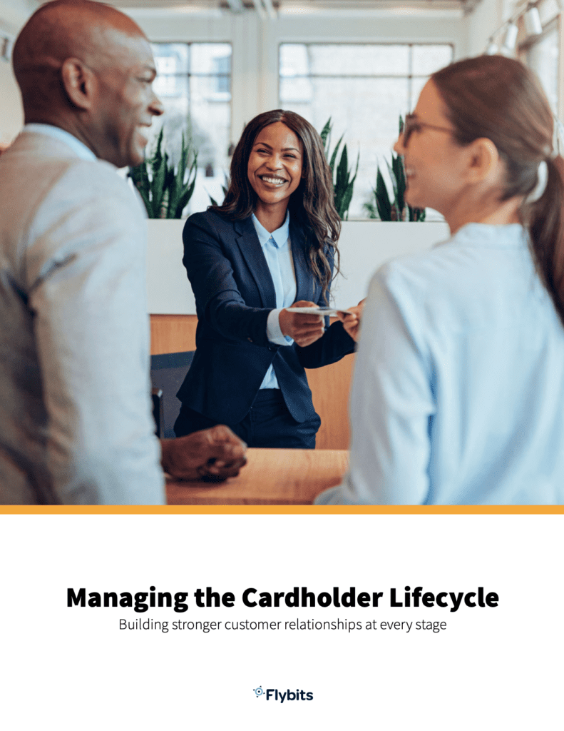 Managing the cardholder lifecycle ebook cover