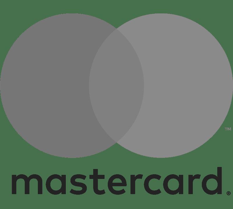 Mastercard Logo Grayscale
