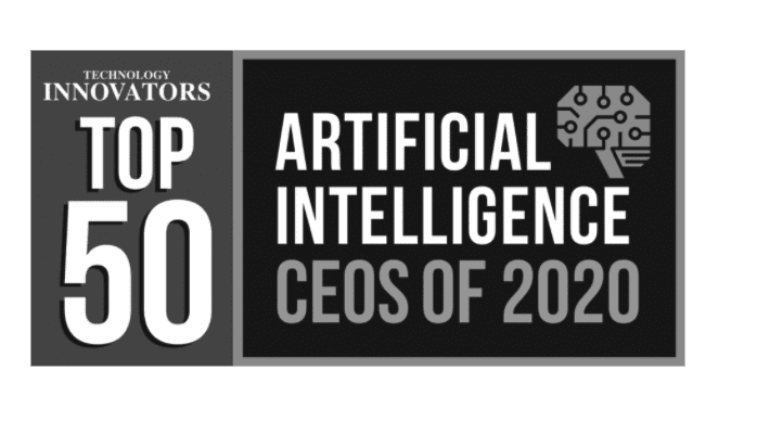 top 50 artificial intelligence ceos of 2020 logo