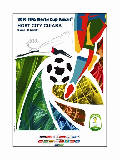 World Cup Poster Cuiaba
