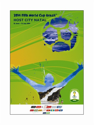 World Cup Poster Natal