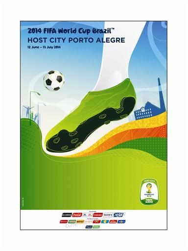 World Cup Poster Porto Alegre