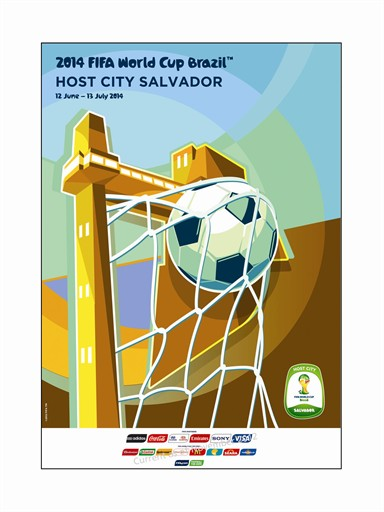 World Cup Poster Salvador