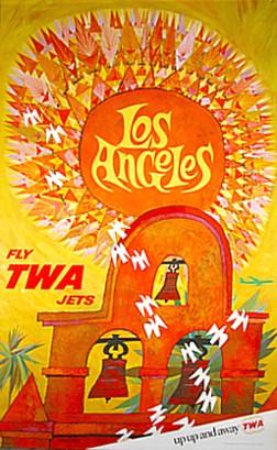 TWA travel poster 1970