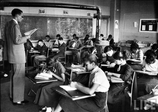 """Black Schoolroom,"" United States (Image source: http://readcontra.com/2014/05/why-white-people-matter-the-american-school-system/)"