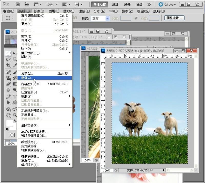 Photoshop 影像設計  - PHOTOSHOP 入門教學 - 圖片固定裁切與白邊 - SNAG0022