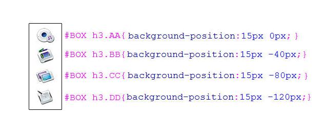 CSS 教學 - 網頁排版  - CSS 教學 - CSS Sprite 網頁優化技巧入門 - FLY-03-2